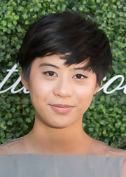 Kim Nguyen sported emo bangs when she attended the Couture Council Fashion Visionary Awards.