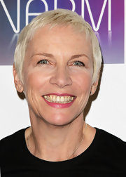 Annie Lennox kept it breezy with this short 'do at the 2011 NARM Convention Awards.