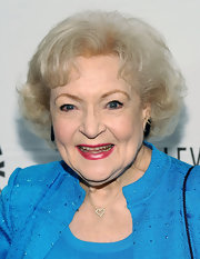 Betty White styled her hair into a teased bob for PaleyFest 2011.