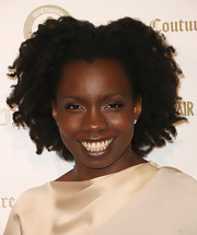 Adepero Oduye rocked her natural hair at the Vanities 20th anniversary event.