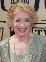 Holland Taylor wore a messy cut at the 2010 TV Land Awards.