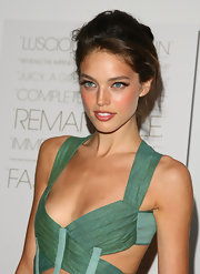 Emily DiDonato wore her hair in a lovely loose updo.