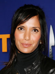 Padma Lakshmi attended the Taste of the Five Boroughs event wearing a messy-chic ponytail.