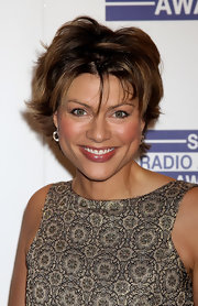 Kate Silverton went for a trendy layered razor cut at the Sony Radio Academy Awards.
