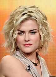 Rachael Taylor rocked messy-chic waves at the 2011 Summer TCA Tour.