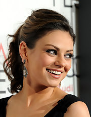 Mila Kunis sported a lovely pair of Cathy Waterman diamond drop earrings at AFI FEST 2010.