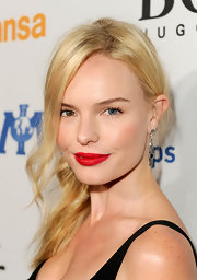 Kate Bosworth oozed sex appeal with those red, red lips.