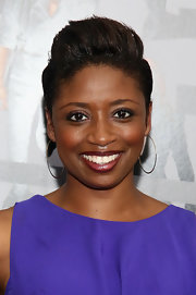 Montego Glover styled her hair into a towering fauxhawk for the NYC premiere of 'Now You See Me.'