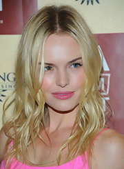 Kate Bosworth attended the premiere of 'Life Happens' rocking mussed-up, beachy waves.
