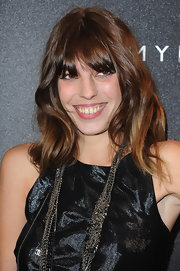 Lou Doillon showed off ultra-girly waves at the Tommy Hilfiger Champs-Elysees flagship opening.