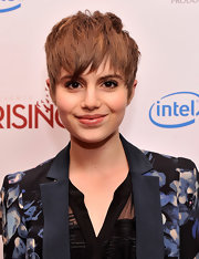 Sami Gayle attended the 'Girl Rising' premiere rocking an edgy layered pixie.