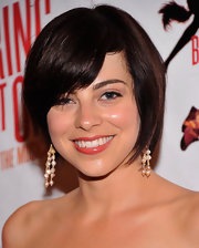 Krysta Rodriguez wore her hair in a cute bob at the Broadway opening of 'Bring It On: The Musical.'
