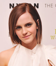 Emma Watson played up her eyes with smoky shadow during the screening of 'The Perks of Being a Wallflower.'
