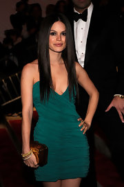 Rachel Bilson wore a luxurious pair of gold and diamond bangles to the Met Gala.