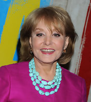 Barbara Walters kept it simple with this bob at the opening night of 'Evita.'