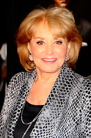 Barbara Walters stuck to her usual bob when she attended the New York premiere of 'Wall Street: Money Never Sleeps.'