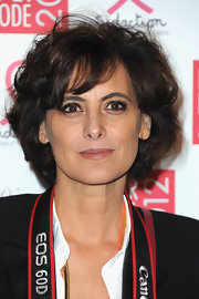 Ines de la Fressange attended the 2012 Sidaction Gala wearing her hair in a curled-out bob.