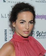 Camilla Belle attended the Shine On Awards rocking a disheveled updo.