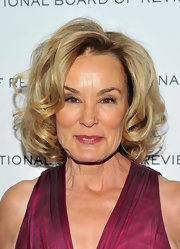 Jessica Lange looked adorable with her bouncy curls at the 2011 National Board of Review Gala.