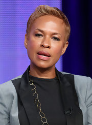 Tonya Lewis Lee looked super cool with her fauxhawk at the 2013 Summer TCA Tour.