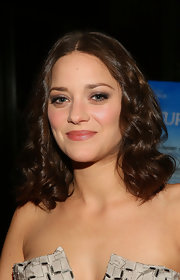 Marion Cotillard styled her hair with bouncy curls for the Foreign Language Film Award reception.