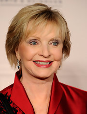 Florence Henderson attended the Academy of Television Arts & Sciences Honors wearing her hair in a short layered cut.