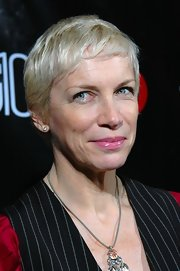 Annie Lennox went for a casual pixie at the Out 100 Party.