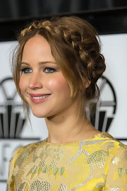 Jennifer Lawrence charmed at the Los Angeles Film Critics Association Awards with this lovely crown braid.