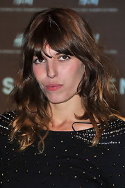 Lou Doillon topped off her look with mussed-up waves during the H&M Paris flagship opening.