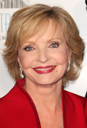 Florence Henderson showed off a stylish razor cut at the 2010 GLSEN Respect Awards.