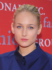 Leelee Sobieski pulled her hair back into a simple bun for the Fashion Group International's Night of Stars.