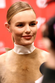 Kate Bosworth kept it sleek with this tight, side-parted ponytail at the premiere of 'Big Sur,'