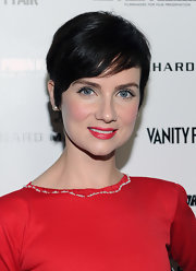 Victoria Summer attended the Vanity Fair celebration of Martin Scorsese wearing her hair in a pixie cut.