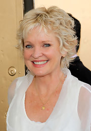 Christine Ebersole kept it casual yet chic with this layered razor cut at the Gore Vidal Public Celebration.
