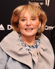 Barbara Walters attended the 35 Most Powerful People in Media event wearing a mildly messy bob.