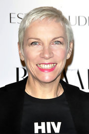 Annie Lennox attended the 2010 Harper's Bazaar Women of the Year Awards wearing her hair in a pixie.