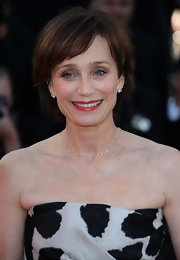 Kristin Scott Thomas kept it casual with this bob at the Cannes Film Festival premiere of 'The Immigrant.'