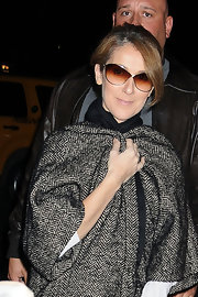 Celine Dion was spotted out in New York City wearing a pair of butterfly sunnies.