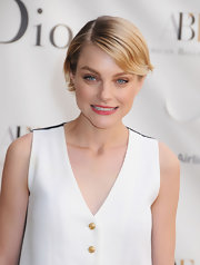 Jessica Stam sported a flippy short 'do at the American Ballet Theatre Spring Gala.