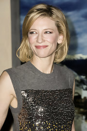 Cate Blanchett opted for a casual bob when she attended the Maison Rome Etoile event.