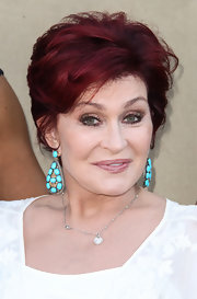 Sharon Osbourne kept it laid-back yet chic with this layered razor cut at the CW, CBS and Showtime 2013 Summer TCA party.