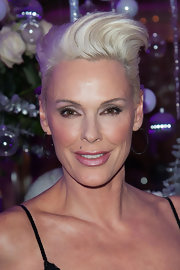 Brigitte Nielsen rocked a perfectly styled fauxhawk at the Best 2012 Awards.