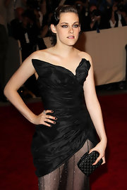 Kristen Stewart attended the 2010 Met Gala wearing black nail polish to match her dress.