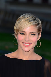 Elsa Pataky went for a trendy emo cut at the London premiere of 'Rush.'