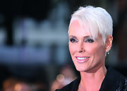 Brigitte Nielsen attended the premiere of 'The Death and Life of Charlie St. Cloud' wearing this edgy short 'do.